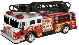 """Toy State 14"""" Rush And Rescue Police And Fire-Hook and Ladder Truck"""