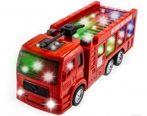 WolVol Electric Fire Truck Toy