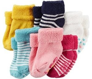 Carter's Baby Soft Cotton and Fleece Socks