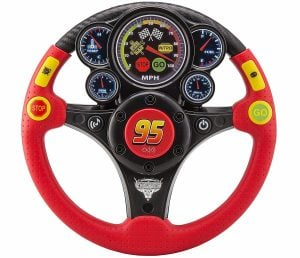EKids Disney Pixar's Cars 3 MP3 Smart Wheel with Stream