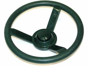 Eastern Jungle Gym Green Plastic Steering Wheel Swing Set