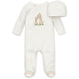 Little Me Unisex Footed Pajama