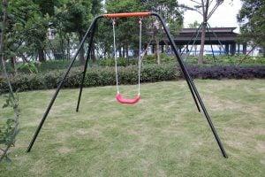 Movement God Kids Outdoor A-Frame Swing Set