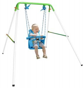 Sportspower My First Toddler Swing Heavy-Duty Baby Indoor/Outdoor Swing