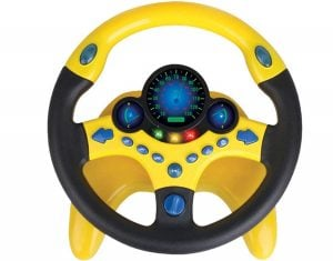 Steering Wheel Toy Cars Simulated Driving