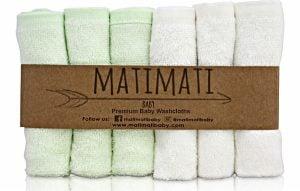 THE MATIMATI BABY Bamboo Baby Washcloth