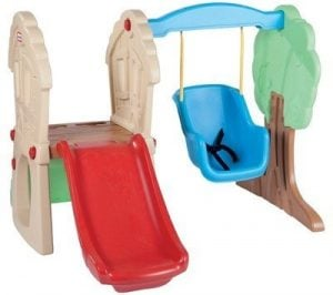 Toddler Swing Set Swing N Slide Tots Indoor Outdoor Swings Seat Infant Playground
