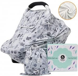 Hicoco Winter Fleece Nursing and Stroller Cover