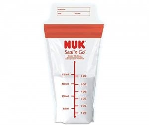 NUK Seal N' Go Breastmilk Storing Pouches