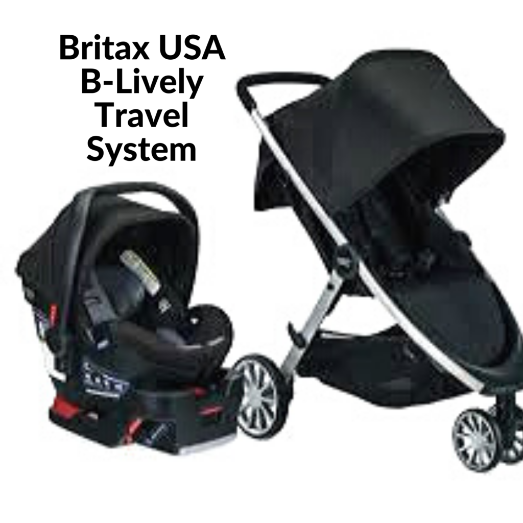 Britax USA B-Lively Travel System