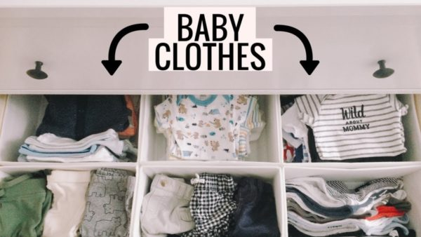 How to set up a baby wardrobe