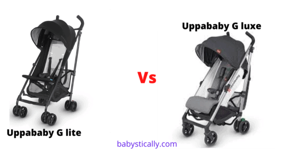 uppababy g lite vs g luxe