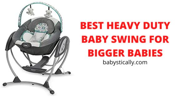 best heavy duty baby swing