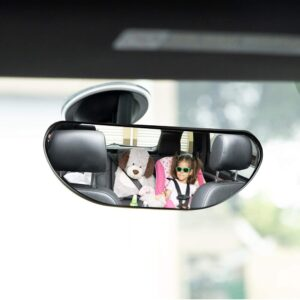 Baby Car Backseat Mirror, Rear View Facing Back Seat Mirror Child Safety Rearview Adjustable Rearview Wide