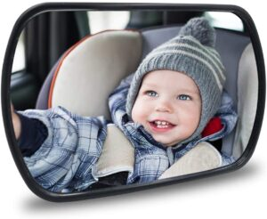 Baby Car Mirror - Rear View Baby Car Back Seat Mirror