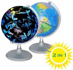 CYHO Illuminated World Globe